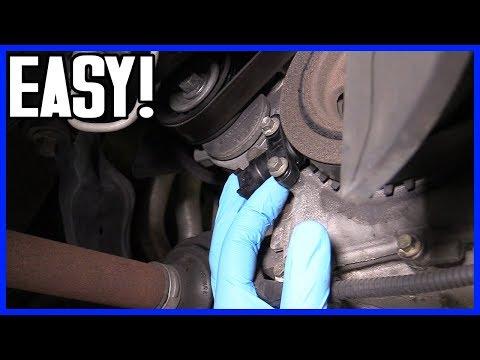 How to Replace Crankshaft Position Sensor Ford Focus 2000–2007