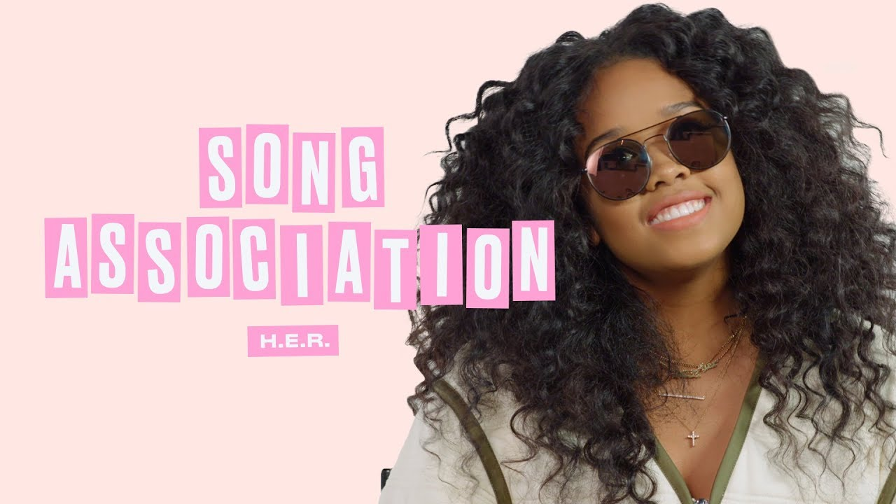 H.E.R. Sings Aaliyah, Adele, and Aretha Franklin in a Game of Song Association   ELLE