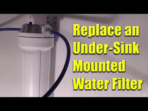 Replace a Whirlpool Model No. WHKF-DWH Under-Sink Mounted Water Filter