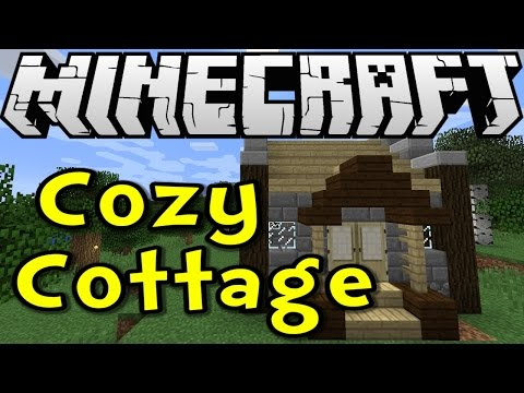 Minecraft 1.8 Tutorial - Cozy Cottage! (Survive & Thrive S8E06)