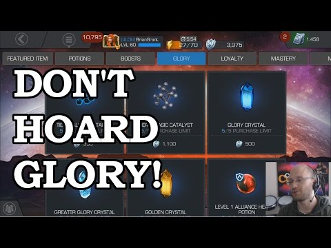 Glory Store Advice | Marvel Contest of Champions