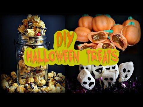 Easy DIY Halloween Table Treats