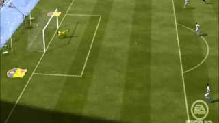 Fifa 12: David Villa Funny Goal!!! - Hd