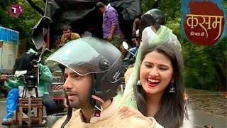 Kasam Tere Pyaar Ki: Tanu Rishi Get Injured During Romantic Bike Ride | Kartika Sengar Interview