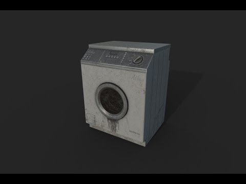 Making of Washer 3ds max Substance painter tutorial part - 1
