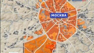 Границы москвы 2017
