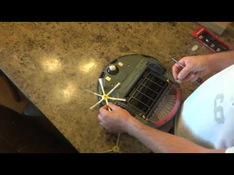 How to Change the Side Brush on the iRobot Roomba 500 and 600 Series