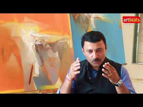 Art Beats `Janiv' Art Exhibition SEP2017 I  Artist Shrikant Kadam