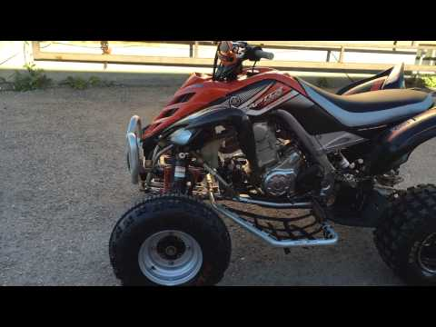 2007 Yamaha Raptor 700 Special Edition Hindle Exhaust