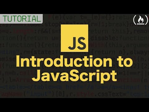 Intro to Javascript - FULL COURSE (tutorial)