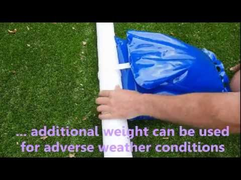 How to fix Bocce Court to Astro Turf.qt
