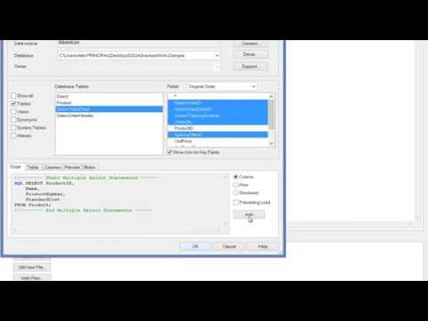 Qlikview SQL SELECT JOIN Tables by RFB 208