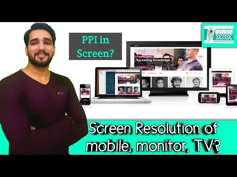 What is Screen Resolution in Mobile, Laptop, Tv ? What is PPI in Screen? Hindi