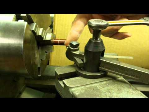 MACHINE SHOP TIPS #34 Turning to a Shoulder on Lathe tubalcain