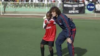 David Luiz Impressed With This Rwandan Kid Udushya Twaranze Urugendo Rwa Luiz Kuri Stade Ya Kigali