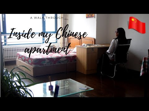 Tour through my housing in China | What does a Chinese apartment look like?
