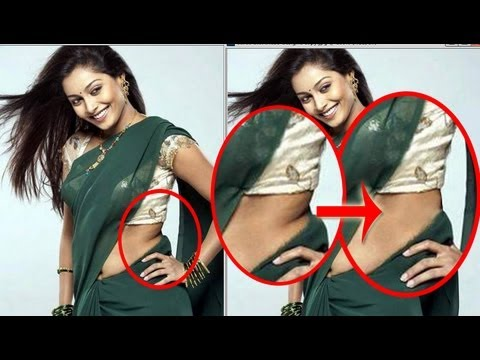 Photoshop Design: How to remove extra fat from body in adobe Photoshop
