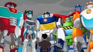 Victoria Final - Transformers Rescue Bots en Español - Dibujos para Niños