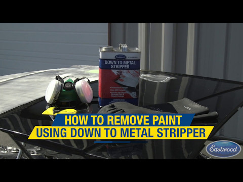 Easily Remove Paint & Primer Using Down to Metal Paint Stripper from Eastwood!