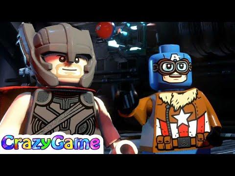 LEGO Marvel Super Heroes 2 100% Walkthrough #2 Avenger's World Tour (Minikit, Stan Lee, Black Cat)