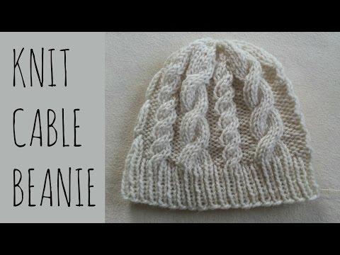 b991625c818e3b Ladies Bobble Hat Knitting Pattern / Hat Ladies