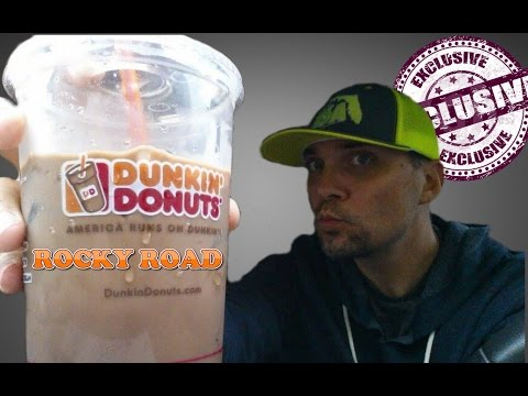 EXCLUSIVE NEW DUNKIN' DONUTS ROCKY ROAD ICED COFFEE REVIEW # 109