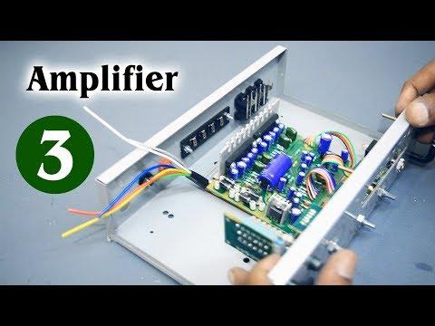 Amplifier Part #3 Homemade ( LED VU Meter with CD1403 ic ) DIY (Hindi electronics) ELECTROINDIA