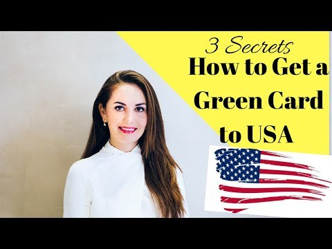 3 Secrets How to Get a Green Card | Live American DREAM 🇺🇸