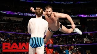 Jack Gallagher vs. Drew Gulak: Raw, Jan. 9, 2017