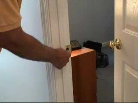 Fixing a Door Latch Video