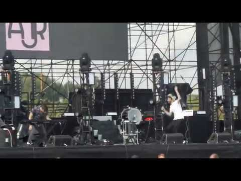 AJR - Come Hang Out live - Show of The Summer - Hershey Park 8/19/17