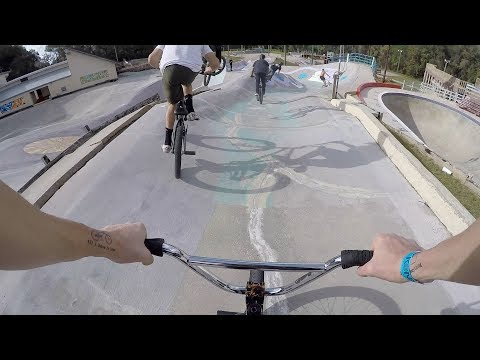 RIDING THE OLDEST SKATEPARK IN THE WORLD!