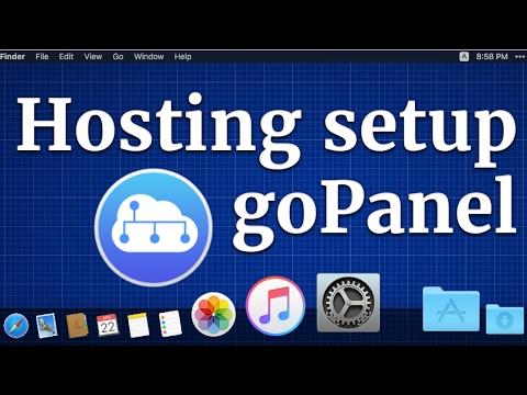 Free web hosting setup with goPanel and virtual Ubuntu