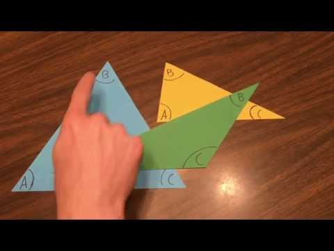 Sum of Interior Angles of a Triangle