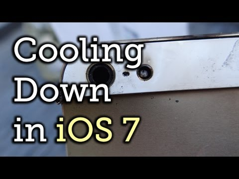 Disable Settings in iOS 7 to Keep Your iPhone from Overheating & Burning You [How-To]