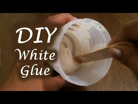 DIY White glue | Homemade no sugar, non-toxic glue | Easy Glue Hack