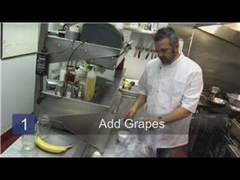 Food Storage Tips : How to Freeze Grapes for Wine-Making