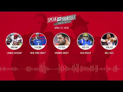 SPEAK FOR YOURSELF Audio Podcast (4.27.18) with Colin Cowherd, Jason Whitlock | SPEAK FOR YOURSELF