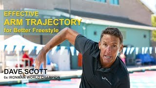 Effective ARM TRAJECTORY for Better Freestyle Swimming