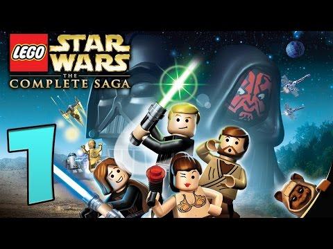 Zagrajmy W Lego Star Wars The Complete Saga Odc1 Podwodne Miasto