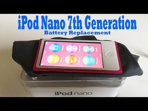iPod Nano Gen Battery Replace - 7th Generation
