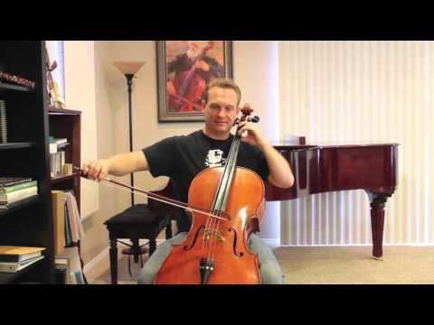 Cello Instruction: How to vibrato #6