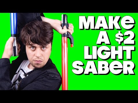 How To Make a $2 Lightsaber!
