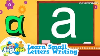 Learn Small Letters Writing Small Alphabet for Children Kindergarten Learn  Series