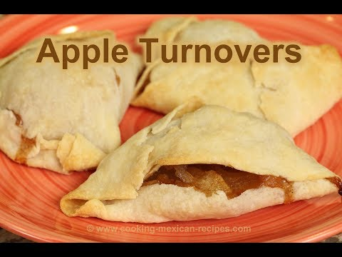How To Make Apple Turnovers From Scratch | Rockin Robin Cooks