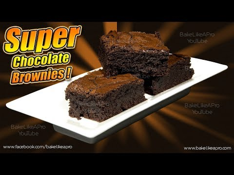 EASY SUPER CHOCOLATE Brownies Recipe