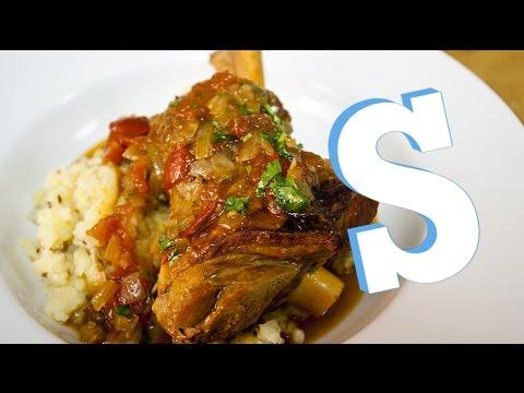 Slow Cooker Saffron Lamb Shank Recipe