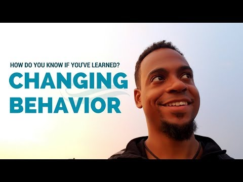 CHANGING YOUR BEHAVIOR | You Haven't Learned Yet | Mindset & Motivation