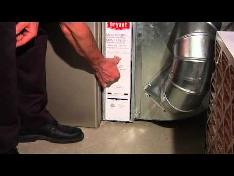 Replacing a 4 inch media filter - Stan's Heating and Air Conditioning