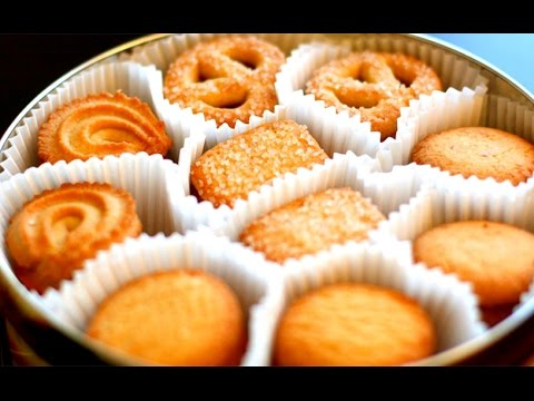 Copycat Royal Danish Butter Cookies | Christmas Cookies Recipe